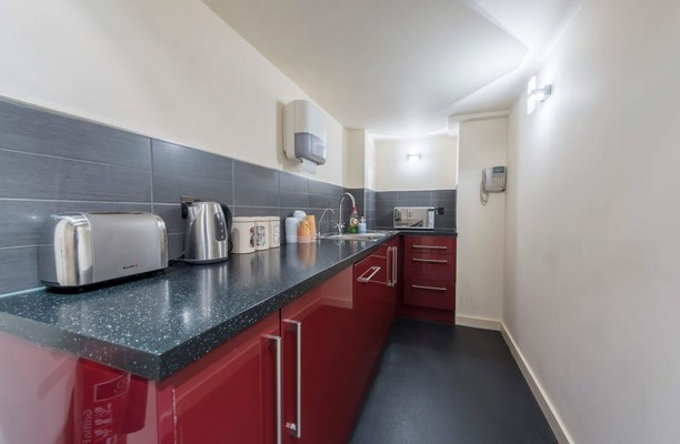 Westminster Bridge Road SE1 office space – Kitchen