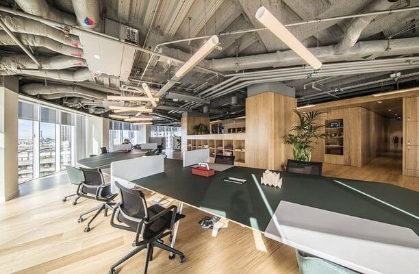 Ropemaker Street EC2 office space – Break Out Area