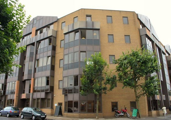 Tiller Road E14, E16 office space – Building External