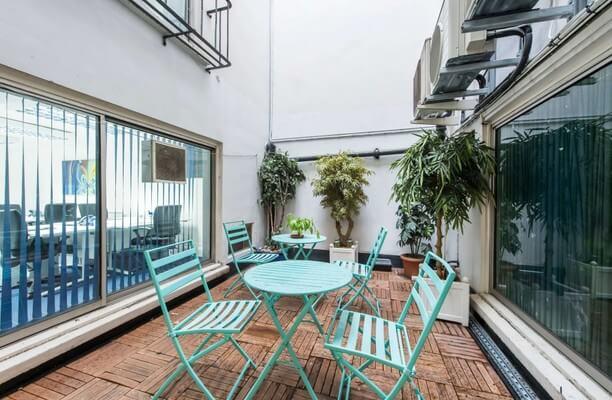 Borough High Street SE1 office space – Outdoor Area