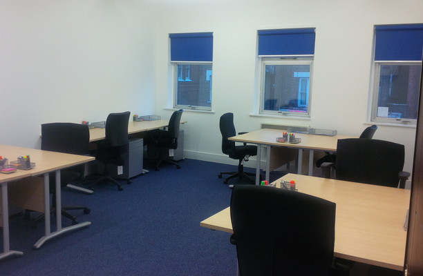 High Road N17 office space – Private Office (different sizes available).