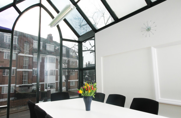 Manfred Road SW15 office space – Meeting/Boardroom.