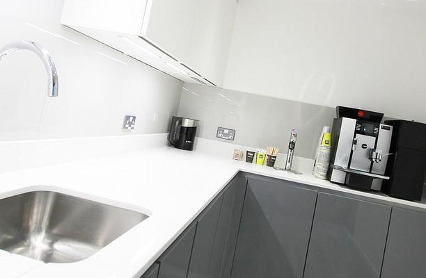 Beech Street EC1 office space – Kitchen