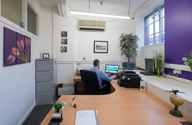 Roden Street NG1 office space – Private Office (different sizes available).