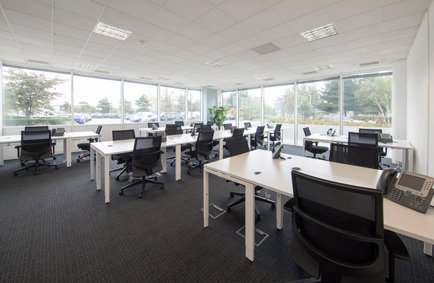 Victory Way DA1, DA2 office space – Private Office (different sizes available).