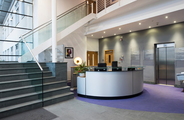 Lochside Place EH1 office space – Reception