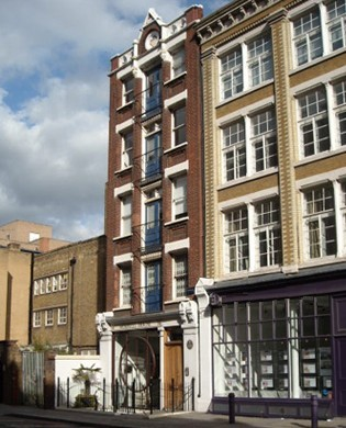 Curtain Road EC2 office space – Building External
