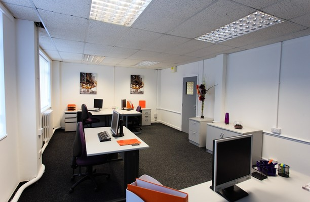 Chamberlain Road HU1 office space – Private Office (different sizes available).