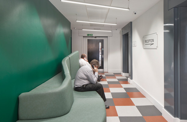 Brune Street E1 office space – Reception