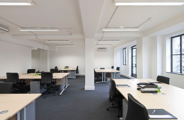 Brune Street E1 office space – Private Office (different sizes available).