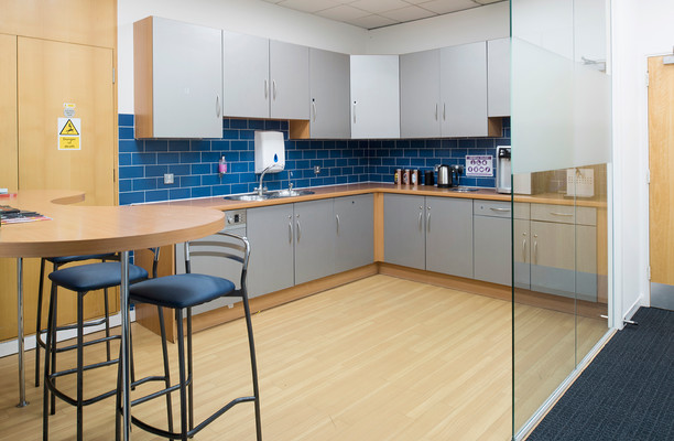 Parkview RG1, RG2, RG4, office space – Kitchen