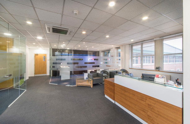 Ecclesall Road S1 office space – Reception