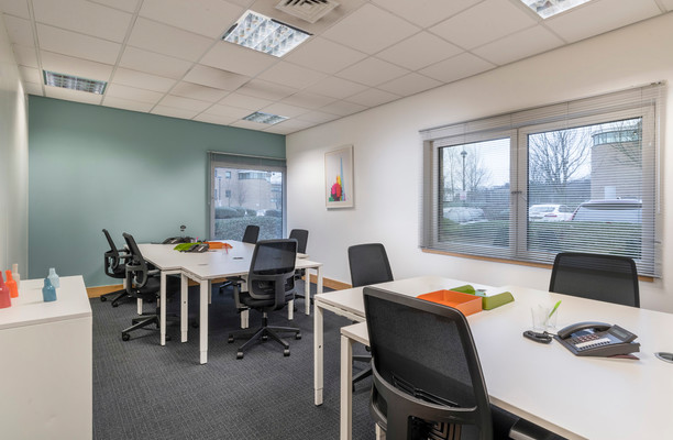 Admiral Way SR1 office space – Private Office (different sizes available).