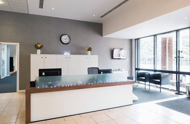Falcon Drive CF10 office space – Reception