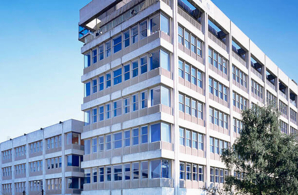 Basing View RG21 office space – Building External