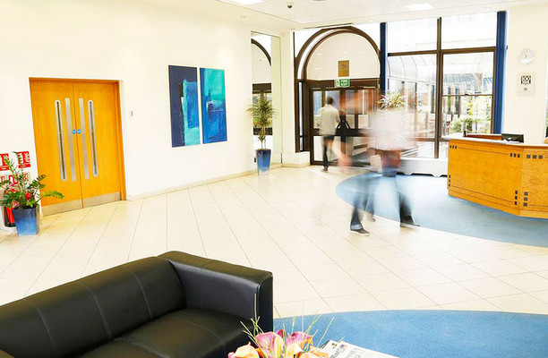 Basing View RG21 office space – Reception