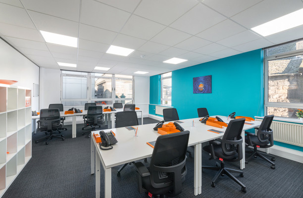 Princes Street EH1 office space – Private Office (different sizes available).