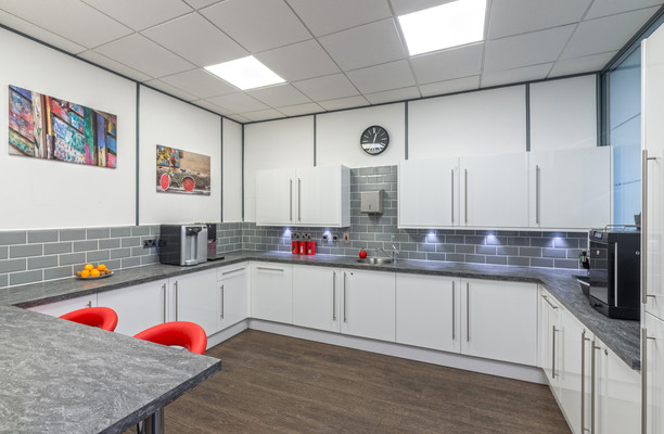 Princes Street EH1 office space – Kitchen