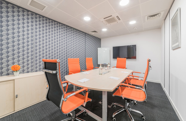 Princes Street EH1 office space – Meeting/Boardroom.