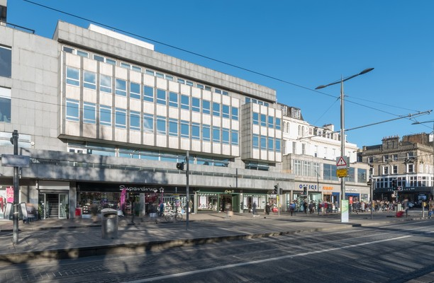 Princes Street EH1 office space – Building External