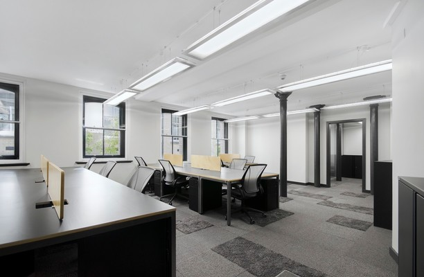 Chancery Lane WC1 office space – Private Office (different sizes available).