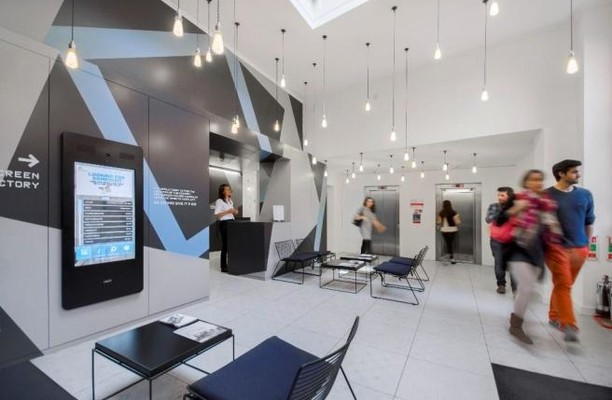 Chancery Lane WC1 office space – Reception