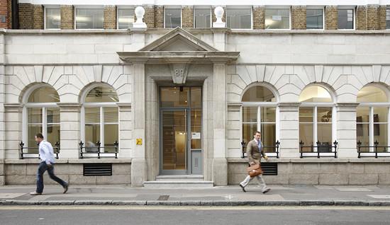 Worship Street EC1 office space – Building External