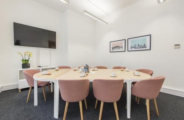 Worship Street EC1 office space – Meeting/Boardroom.