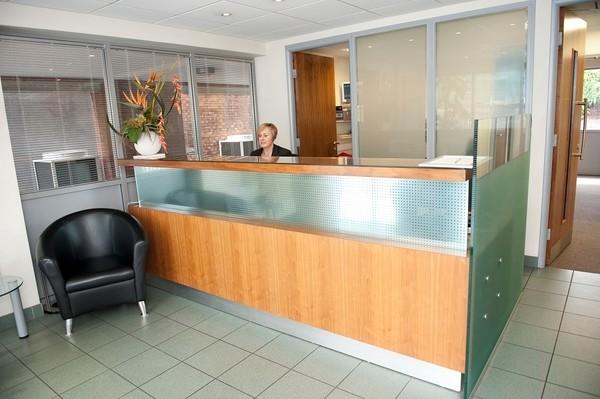 South Bridge Place CR0 office space – Reception