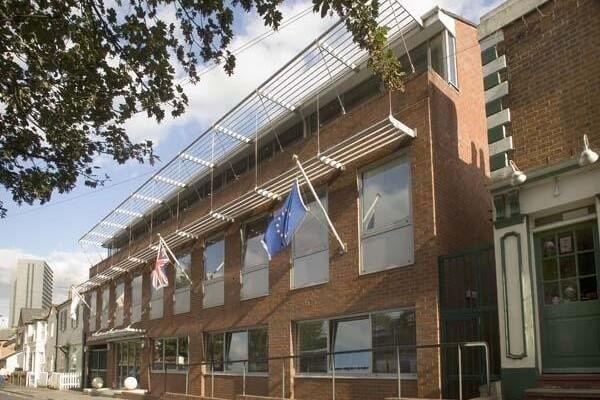 South Bridge Place CR0 office space – Building External