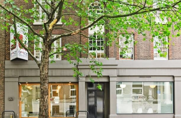 Grays Inn Road WC1 office space – Building External