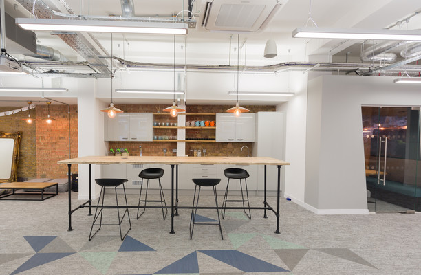 Grays Inn Road WC1 office space – Kitchen