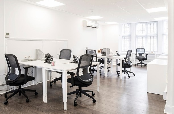 Margaret Street W1 office space – Private Office (different sizes available).