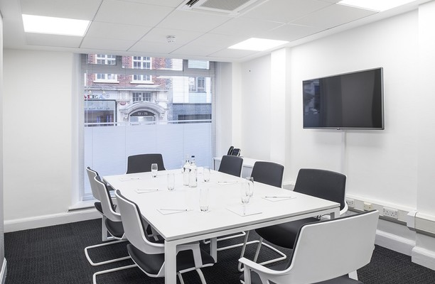 Margaret Street W1 office space – Meeting/Boardroom.
