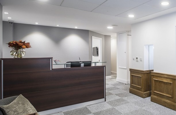 Margaret Street W1 office space – Reception