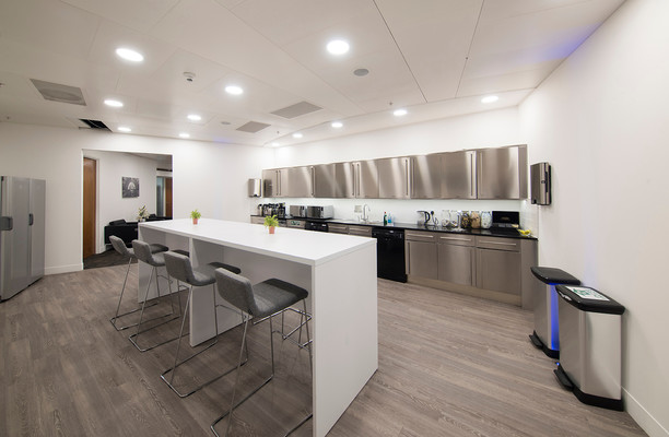 St Mary Axe EC1 office space – Kitchen