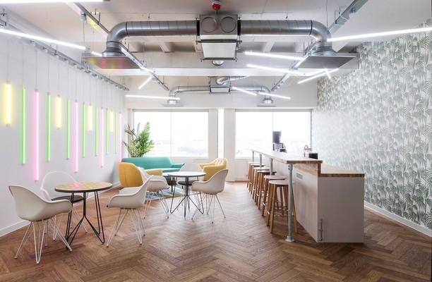 Waterloo Road SE1 office space – Break Out Area