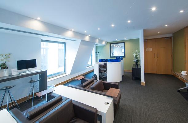 Cannon Street EC4 office space – Break Out Area