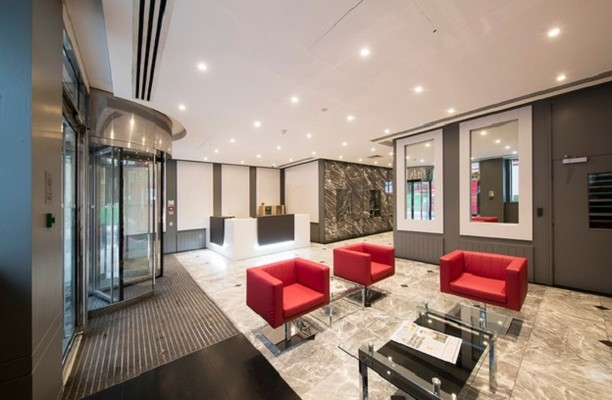 Cannon Street EC4 office space – Reception