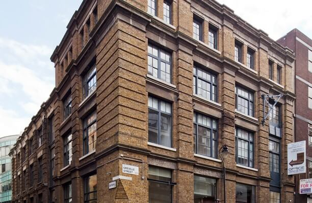 Greville Street EC1 office space – Building External