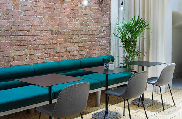 Greville Street EC1 office space – Break Out Area