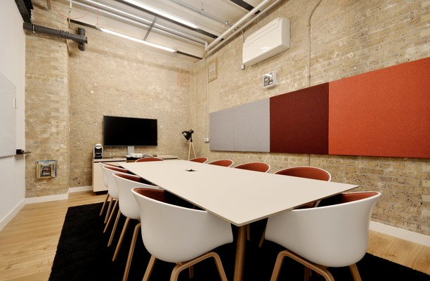Clerkenwell Close EC1 office space – Meeting/Boardroom.