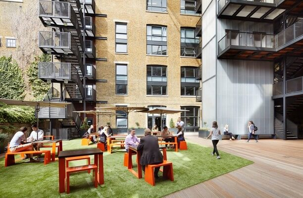 Clerkenwell Close EC1 office space – Outdoor Area