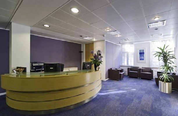 Storeys Gate SW1 office space – Reception