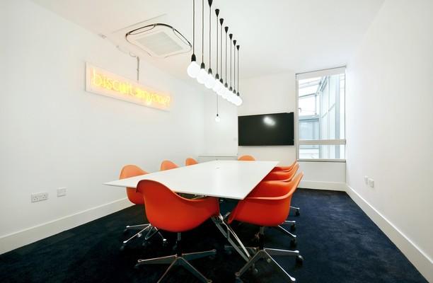 Pine Street N4 office space – Meeting/Boardroom.