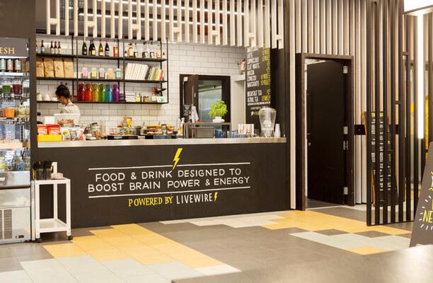 Durham Street SE11 office space – Kitchen
