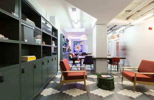 Rivington Street EC1, EC2 office space – Break Out Area