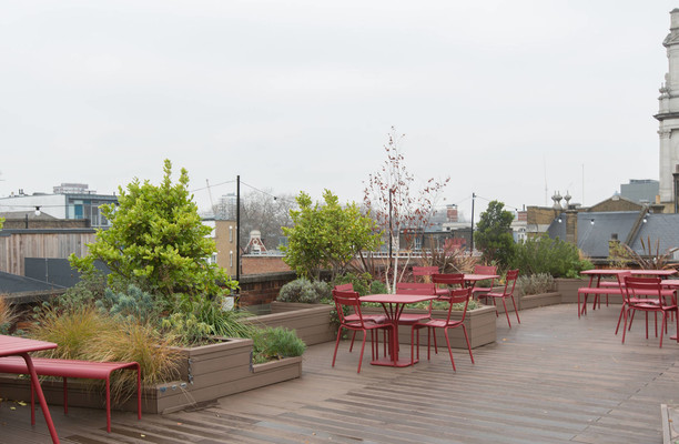 Rivington Street EC1, EC2 office space – Outdoor Area