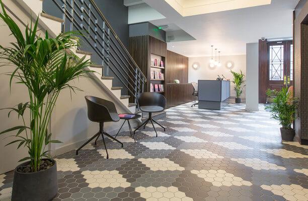 Rivington Street EC1, EC2 office space – Reception