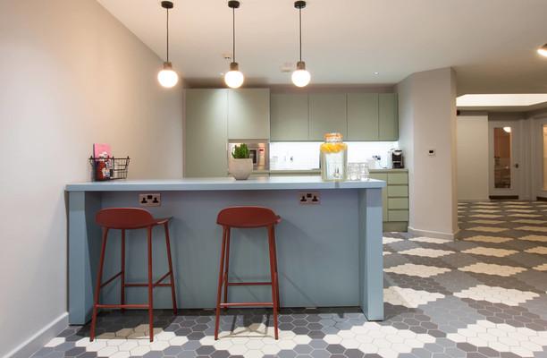 Rivington Street EC1, EC2 office space – Kitchen